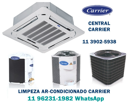 Limpeza ar-condicionado Carrier